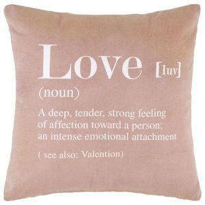 Dekoračný Vankúš Love Violet